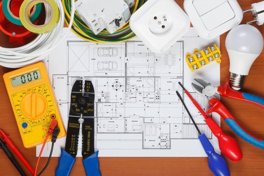 Проектирование электрики квартиры